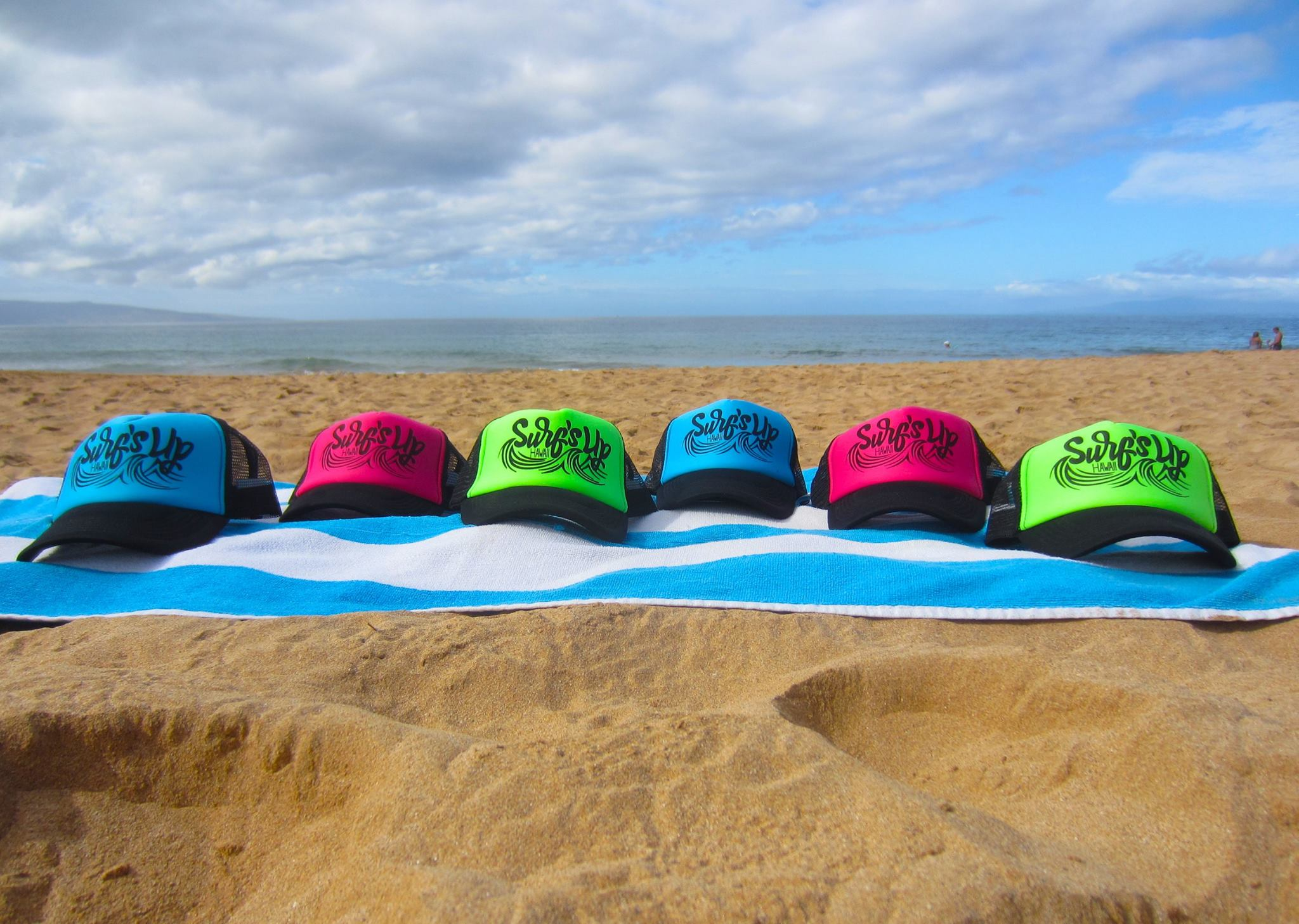 Surfs up hats